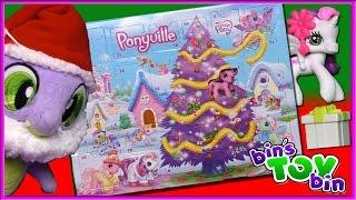 getlinkyoutube.com-Let's Open The ENTIRE My Little Pony Advent Calendar From 2008!   Bin's Toy Bin