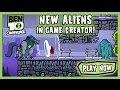 Ben 10 Omniverse: Game Creator - Ben 10 Games