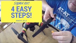 4 Tips for Removing Jello on Your Syma X8C Quadcopter