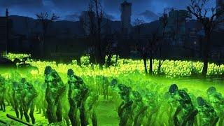 getlinkyoutube.com-FALLOUT 4 BATTLE #10 - 10,000 Ghoul VS. Minutemen Castle