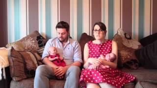 getlinkyoutube.com-Lady told she was genetically a man has given birth to twin girls.