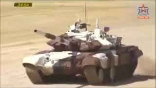 getlinkyoutube.com-Полосатый тигр Азербайджана Т-72.