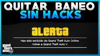 getlinkyoutube.com-GTA V ONLINE COMO QUITAR BANEO DEL ONLINE - DESBANEARSE SIN HACKS