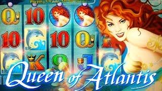 getlinkyoutube.com-Queen of Atlantis BIG WIN BONUS + LIVE TOP HIT!!!  - 5c Aristocrat Video Slots