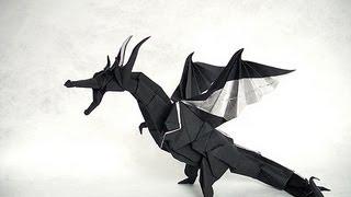 getlinkyoutube.com-How to fold Origami Fiery Dragon 摺紙噴火飛龍教學 (Kade Chan)