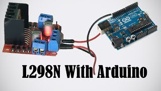 getlinkyoutube.com-L298N - Using Motors with Arduino - How to Use L298N Driver