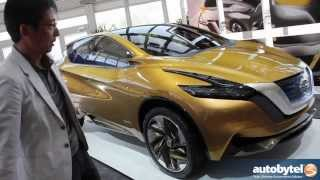 getlinkyoutube.com-Nissan Concept Cars: EXTREM, Friend-ME, Resonance w/ Taro Ueda Nissan Design VP