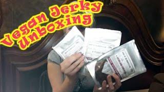 getlinkyoutube.com-Vegan Jerky Unboxing