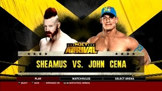 getlinkyoutube.com-WWE 2K16 Gameplay Sheamus Vs. John Cena NXT Arrival PS3 HD
