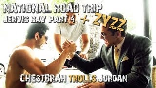 National Road Trip -Jervis bay part4 Zyzz, chestbrah,Moe Bulldogs,Teddy,Fab view on youtube.com tube online.