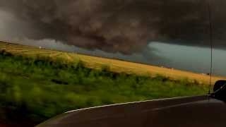 getlinkyoutube.com-HD. Nearly Sucked Up. El Reno Wedge 2.6 Miles Wide. Worlds Widest Tornado