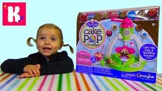 getlinkyoutube.com-Кейк попс набор для приготовления печенек на палочке Cake pop maker unboxing set