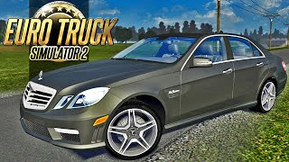 getlinkyoutube.com-Euro Truck Simulator 2 - Mercedes Benz E63 AMG