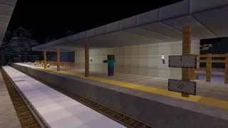 getlinkyoutube.com-(Minecraft)暇つぶし鉄道再現プロジェクト