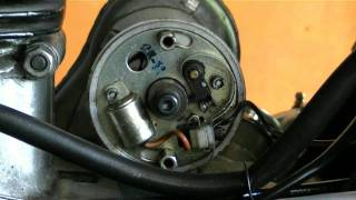 getlinkyoutube.com-How To Tune Up A Royal Enfield Bullet Motorcycle - Ignition Timing And Point Gap