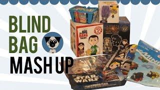 getlinkyoutube.com-Blind Bag Mash Up: Minions, Frozen, Thomas Minis, Shopkins, DC