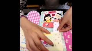 getlinkyoutube.com-3週年紀念卡片 爆炸卡 禮物盒 exploding card