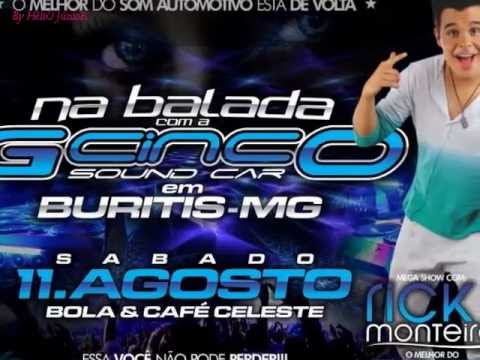 Na balada com a Gcinco Sound Car em buritis-MG
