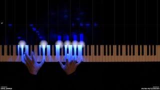 The Dark Knight - Main Theme (Piano Version) + Sheet Music width=