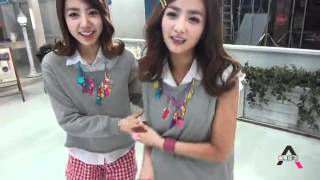 A Pink - my my HD (Making Video) part 1