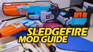 getlinkyoutube.com-Your First Nerf Mod: How to Make a Super Sledgefire | Make Test Battle