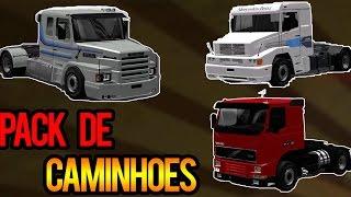 getlinkyoutube.com-Euro Truck Simulator 2 - Mod Pack de Caminhões Brasileiros v1.23