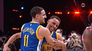 getlinkyoutube.com-Stephen Curry & Klay Thompson - 2016 Footlocker 3-Point Contest