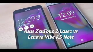 getlinkyoutube.com-Asus Zenfone 2 Laser vs Lenovo Vibe K5 Note Comparison (Tests, Design, Performance etc.)