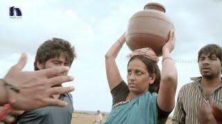 Boys Forcing A Lady For Water - Billa Ranga Telugu Movie Scenes - Rahul Venkat, Komal Jha,