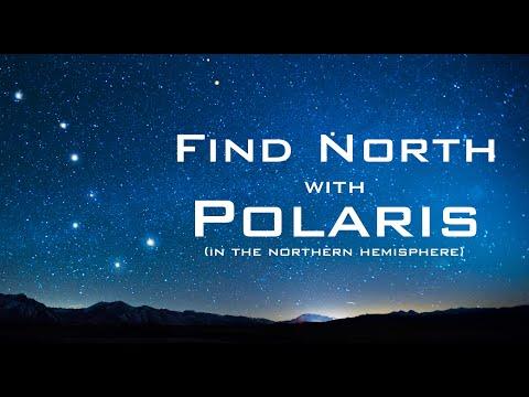 Find North with the Stars - Polaris & Ursa Major - Celestial Navigation