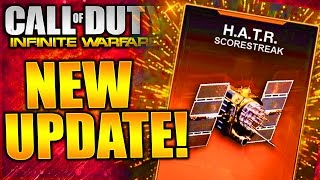 INFINITE WARFARE NEW HUGE UPDATES! NEW SCORESTREAKS COMING TO COD INFINITE WARFARE!!!