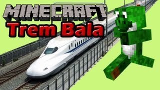 getlinkyoutube.com-Minecraft com Mods - Trem Bala - EP53