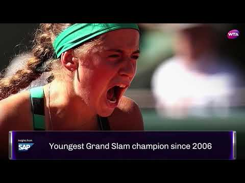 Jelena Ostapenko season highlights