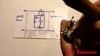 getlinkyoutube.com-Тиристорный регулятор мощности. Делаем своими руками.