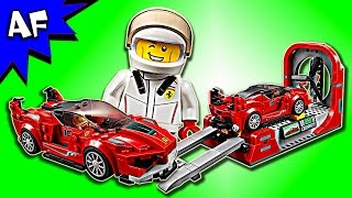 Lego Speed Champions Ferrari FXX K & Development Center 75882 Speed Build