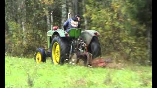 getlinkyoutube.com-John Deere with 350 chevy small block