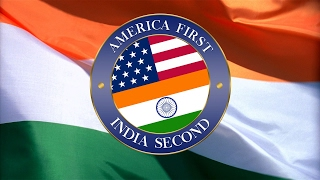 America First, India Second [Official] - Welcome President Trump #EverySecondCountsEU
