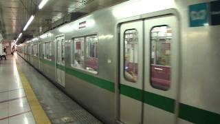 getlinkyoutube.com-東京メトロ6000系急行唐木田行 小田急新宿駅発車 2011.08.18