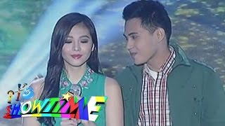 getlinkyoutube.com-Janella and Marlo in a 'kilig' opening number on Showtime