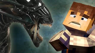 getlinkyoutube.com-Alien - THE ALIENS ARE COMING! (Minecraft Roleplay) #1