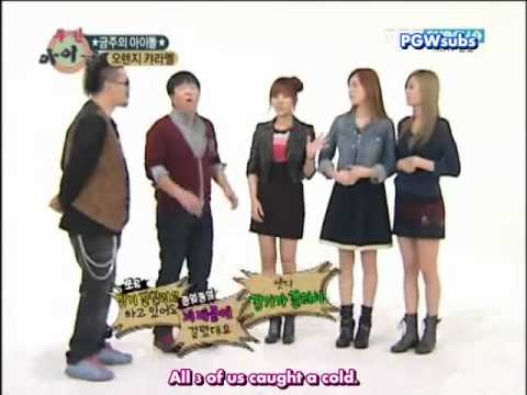 [Eng Sub] Orange Caramel @ Weekly Idol [1/2]