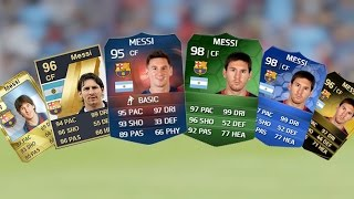 getlinkyoutube.com-Lionel Messi Ultimate Team Cards from FIFA 10 to FIFA 15