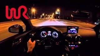 getlinkyoutube.com-2016 Audi S3 Sedan - WR TV POV Night Drive