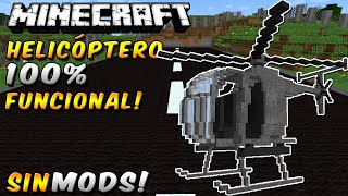 getlinkyoutube.com-HELICÓPTERO 100% FUNCIONAL SIN MODS!! En Minecraft Vanilla