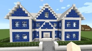 getlinkyoutube.com-マインクラフト【家の作り方】豪華な家を作ろう!!