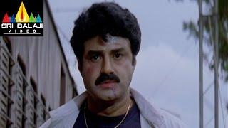 getlinkyoutube.com-Narasimha Naidu Movie Balakrishna Train Scene | Balakrishna, Simran | Sri Balaji Video