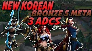 getlinkyoutube.com-New Korean Bronze 5 meta - 3 ADCs - Spectating Bronze 브론즈V