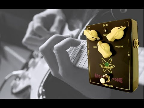 Rocktone -  The best overdrive pedal by Electron Handmade Guitar Effects Pedal