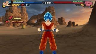 getlinkyoutube.com-Goku Blue Super Saiyan God from Resurrection F (Dragon Ball Z budokai Tenkaichi 3 Mod)