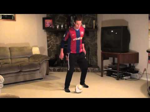 At Home Soccer Skills and Drills: Exercise #9 - Side Flick Ups